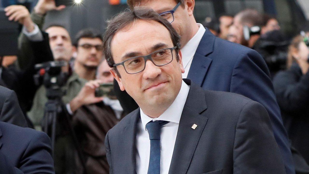 El exconsejero de Territorio Josep Rull, del PDECat, irá a Estremera