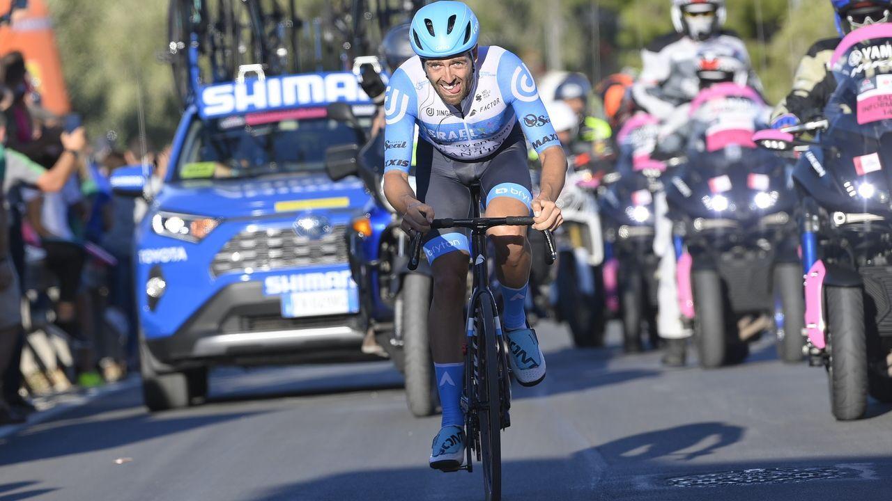 El ciclista Michael Matthews, del Team Sunweb, en el Giro de Italia 2020 en el que ha tenido que abandonar al dar positivo en coronavirus