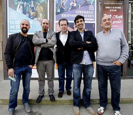 Gestores y protagonistas de la nueva etapa del teatro.