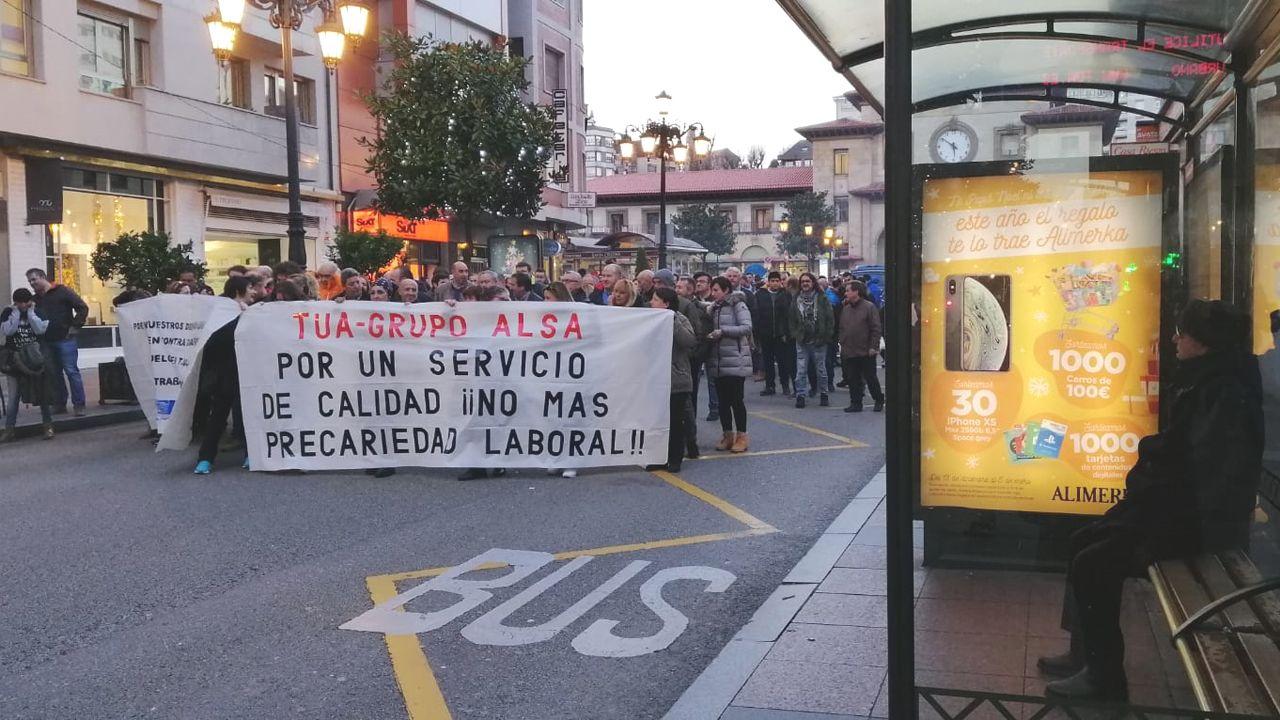 Manifestación de TUA en Oviedo