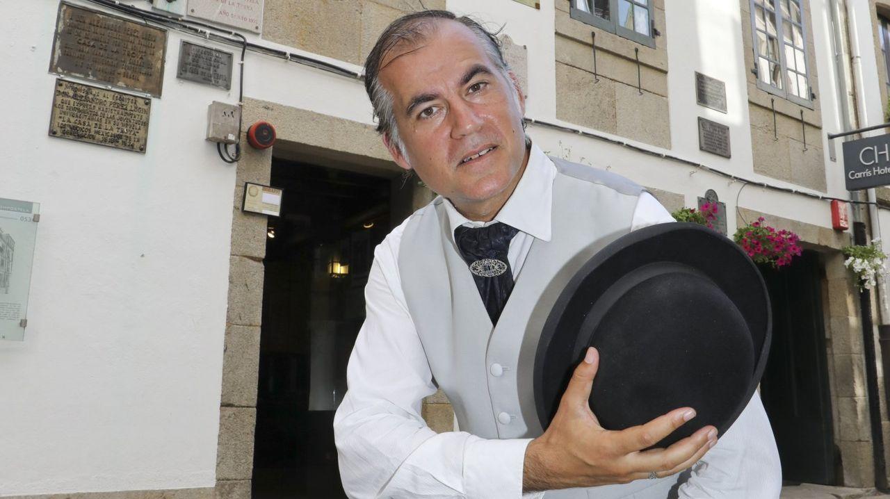 El Calvo Xiria-Carnes do Ribeiro, en imágenes.En O Carballiño, el cribado del sábado no detectó ningún positivo