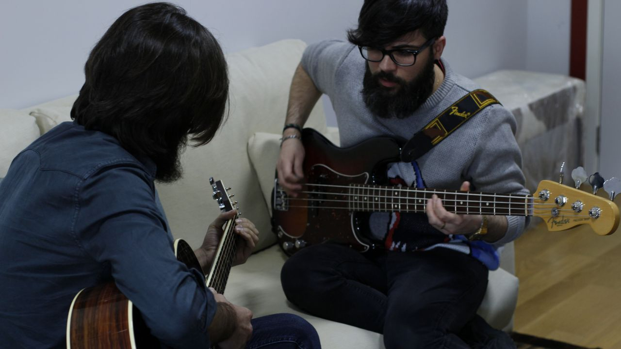 Viva Suecia y Rufus T. Firefly trabajan juntos en A Coruña.NANI CASTAÑEDA