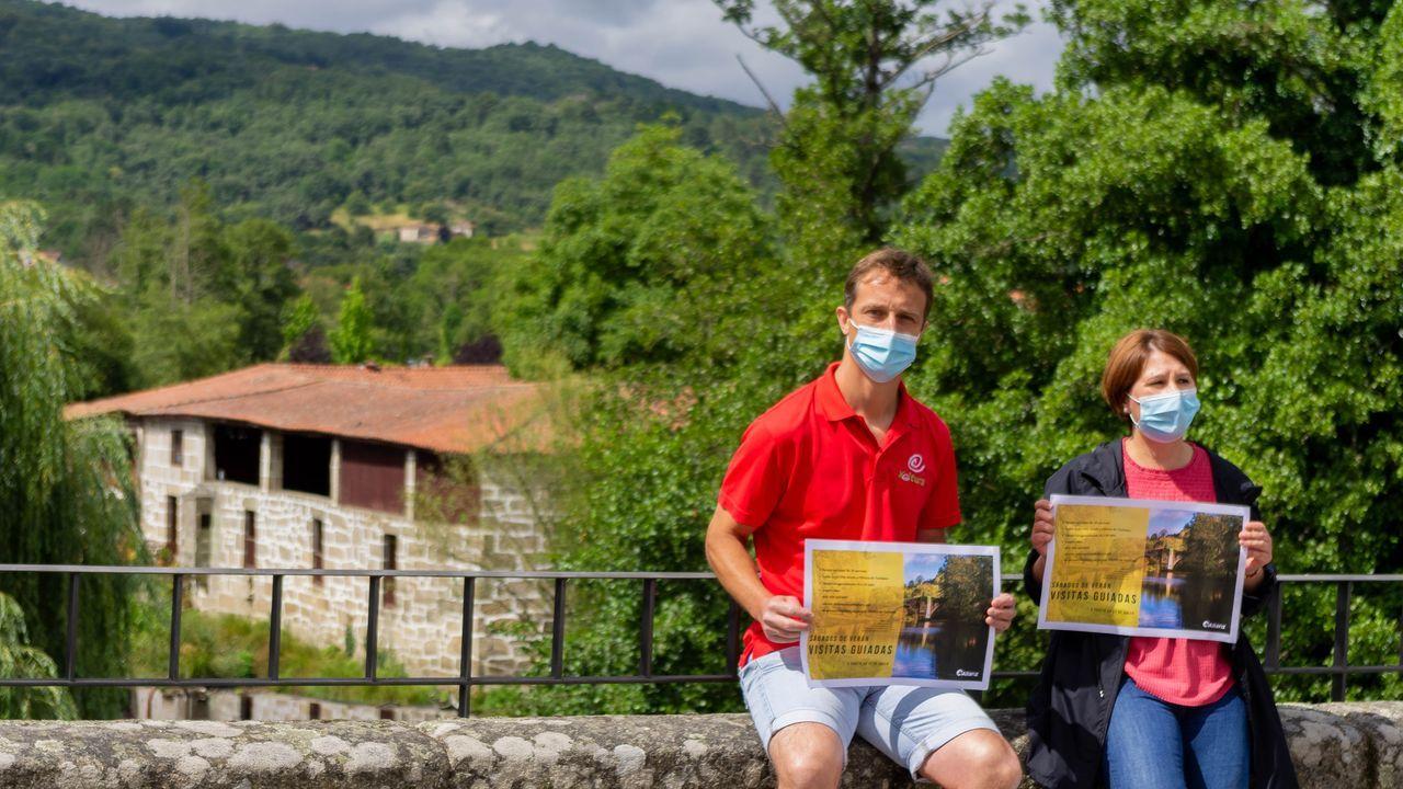 Un paseo por las fortalezas de Ourense.Presentación da campaña de verán