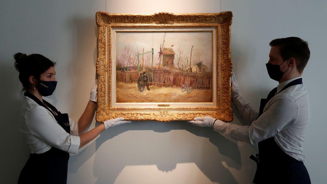 Van Gogh pintó el cuadro en 1887