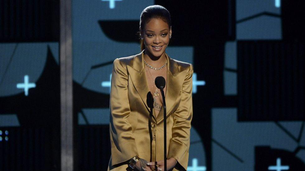 El perro que «canta» por Rihanna.Nate Parker, con el premio de Sundance