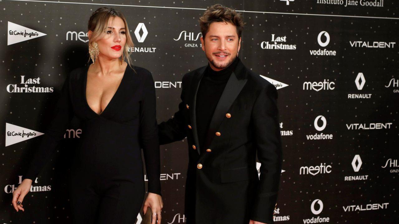 Manuel Carrasco y su esposa, Almudena Navalón