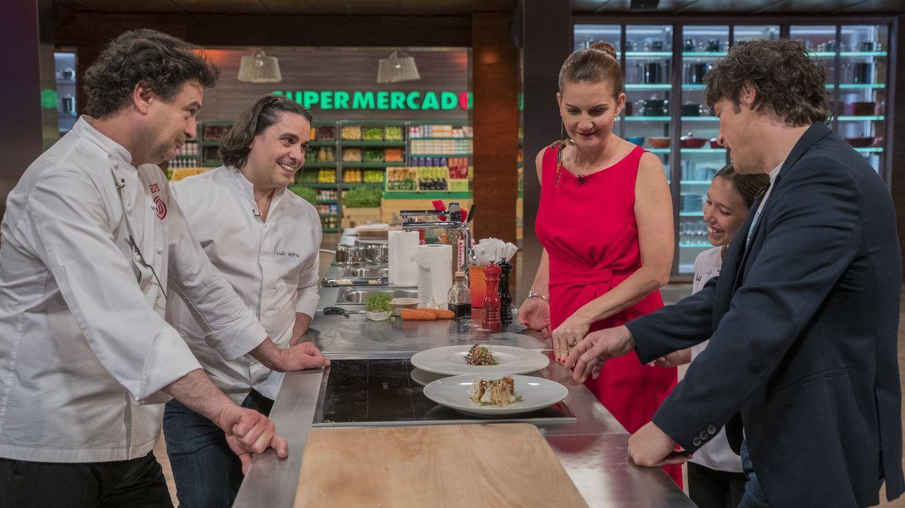 Los cocineros de Pontevedra demostraron qué pueden hacer con el marisco