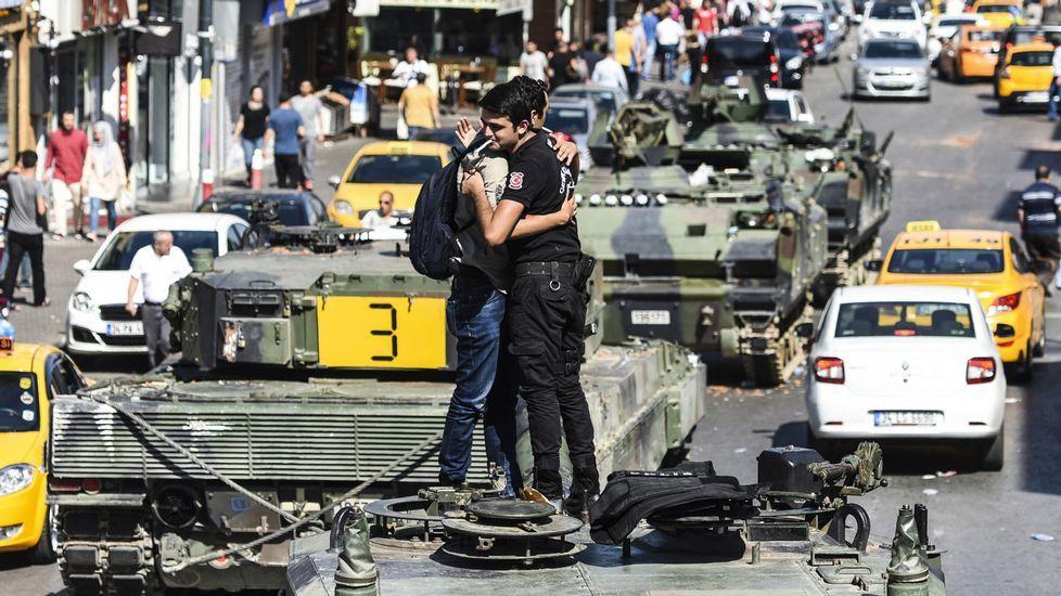 La respuesta ciudadana algolpe de Estado en Turquía.BULENT KILIC | afp
