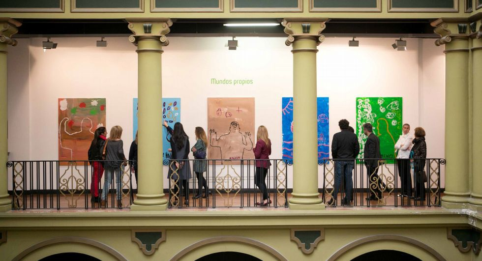 Las obras que componen la muestra se elaboraron durante los cinco meses que duraron los talleres.