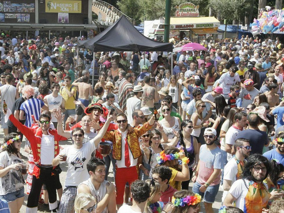 La romería es una de las fiestas de larga tradición en Viveiro.