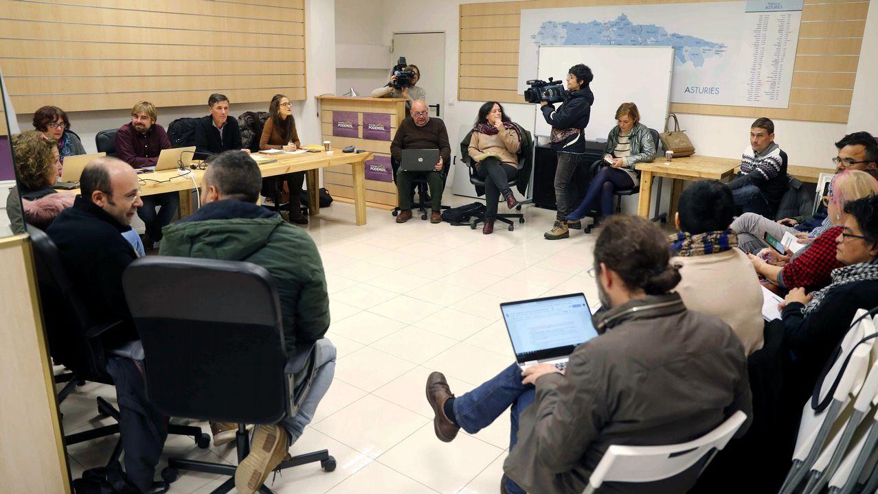 El Consejo Ciudadano de Podemos Asturies