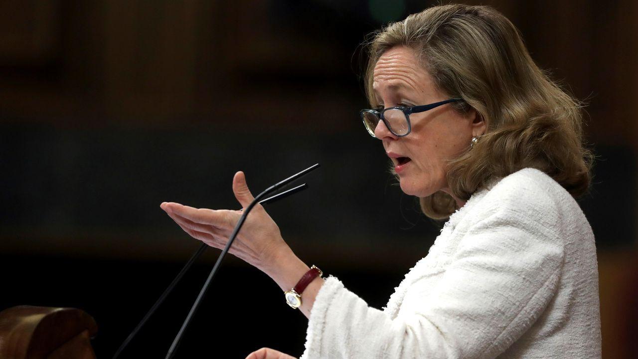 Calviño rechaza la derogación de la reforma laboral por «absurdo y contraproducente»