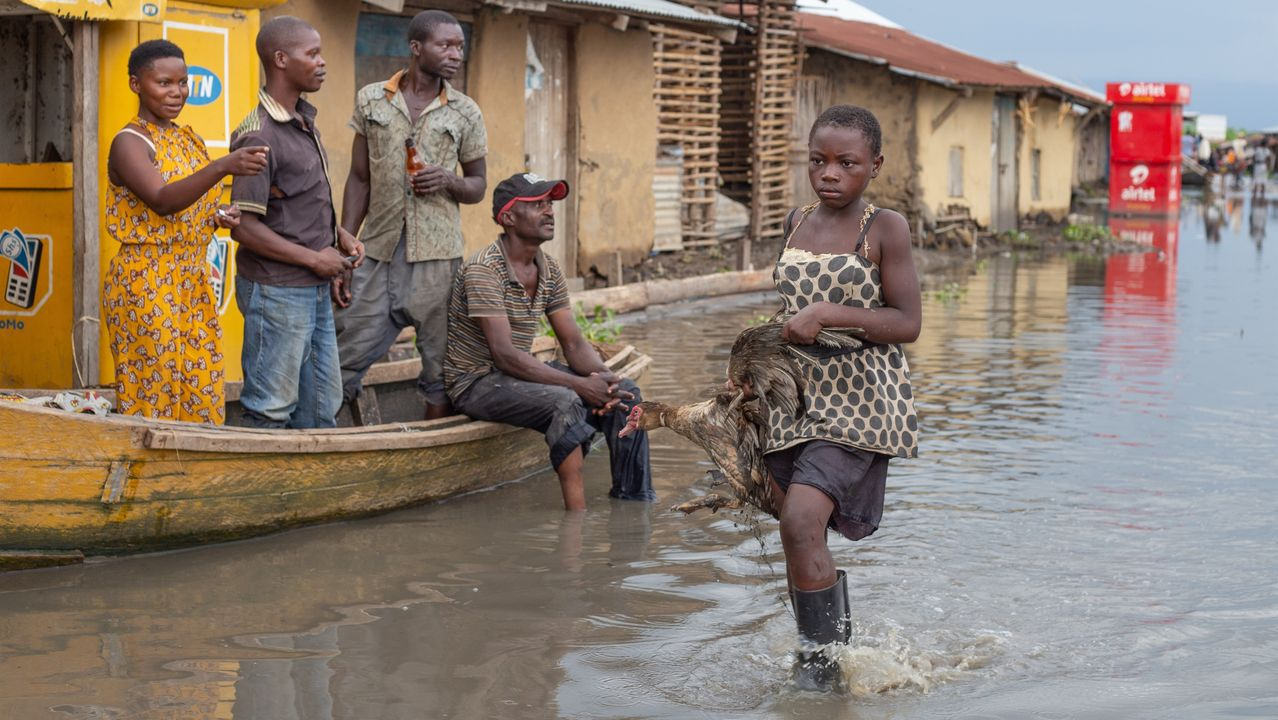 Inundaciones en Uganda