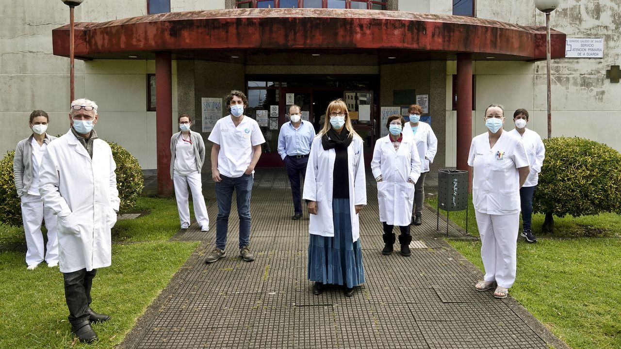 Falta de médicos en el centro de salud de A Guarda
