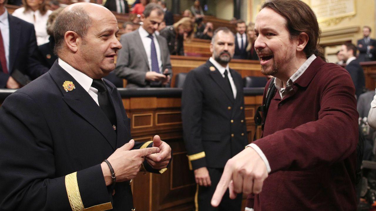 Pedro Sánchez comunica la composición del nuevo Gobierno de coalición.O novo Consello de Ministros na súa primeira reunión de traballo, o pasado martes 14