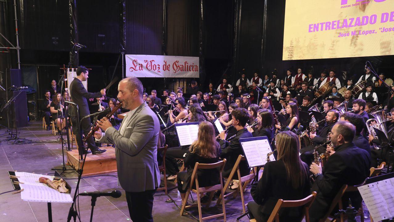 El festival Compostela TradFest llena de música y baile la ciudad.La jornada del domingo incluyó un festival de hip hop en Vite