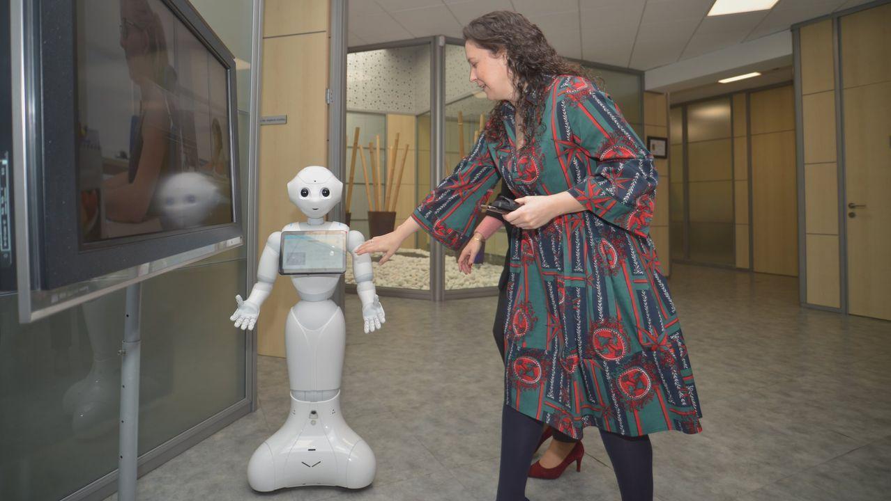 Pepe, el robot humanoide de Congalsa