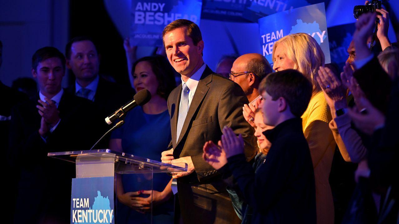 El demócrata Andy Beshear sera el nuevo gobernador de Kentucky tras derrotar al candidato republicano