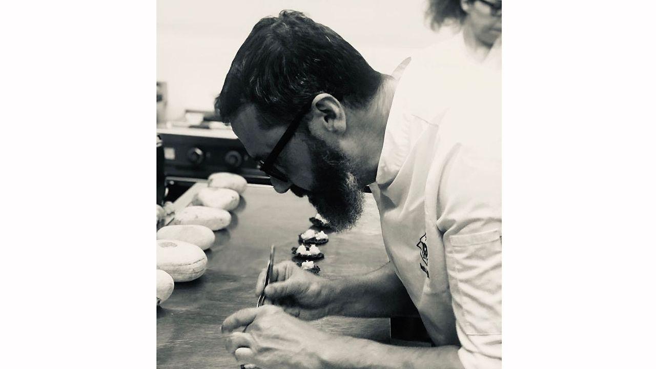 Mario Fernández, cocinero de TC28 beber y comer