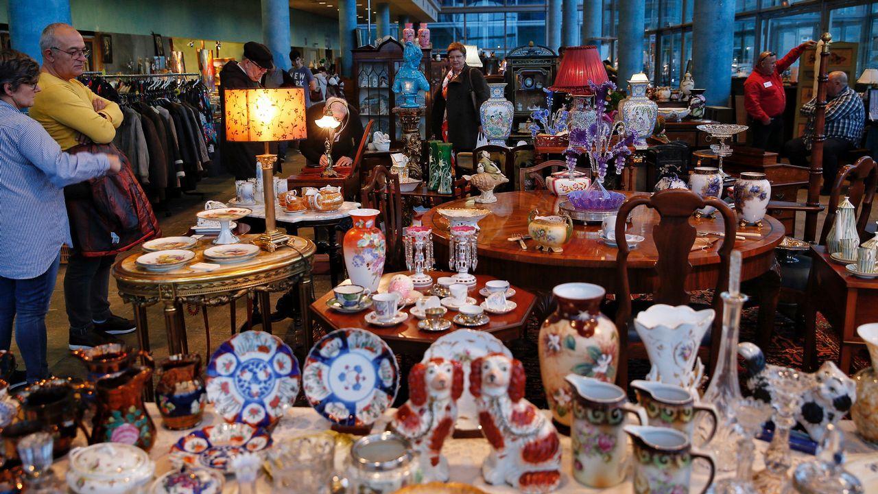 La I Feria de Antigüedades en el Palexco