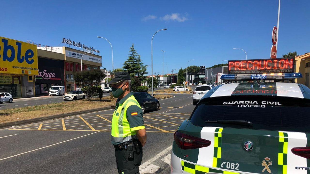 La Guardia Civil pide que se esté pendiente de la señalización.Imagen de archivo de la última edición de Alfaroleiros