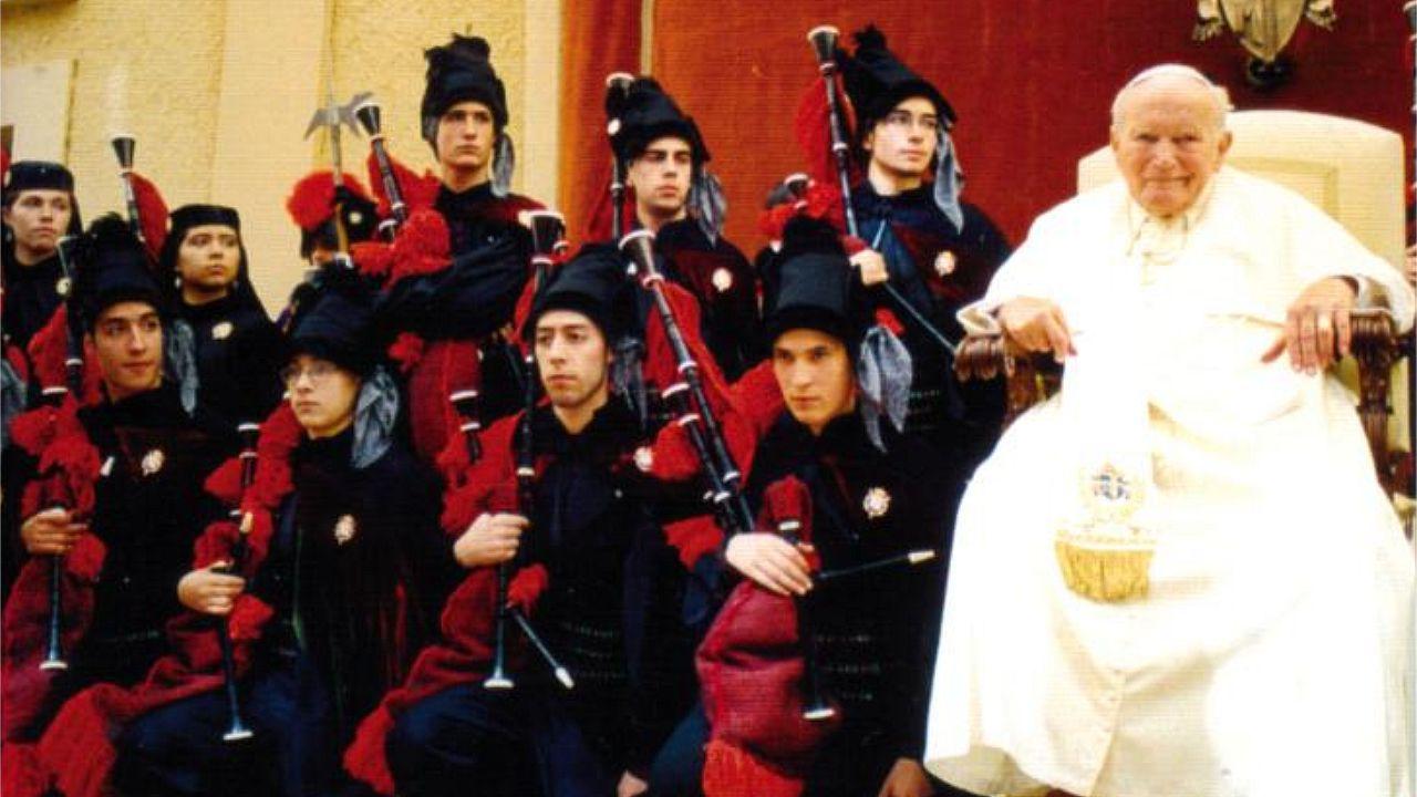 La Real Banda ya le había dedicado una muiñeira a Juan Pablo II
