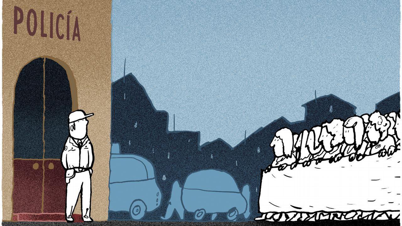 Búscate en los actos religiosos de la Semana Santa barbanzana