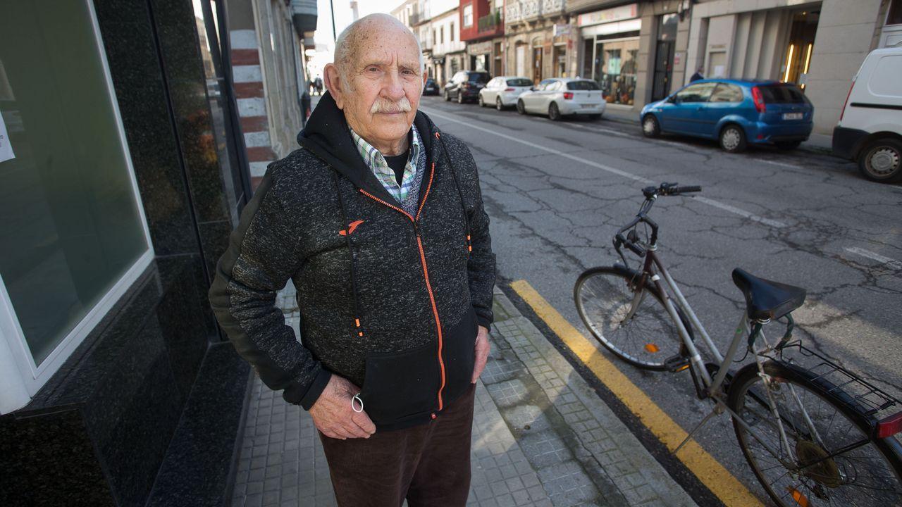 Jesús Piñeiro, de 92 años, es el propietario del piso