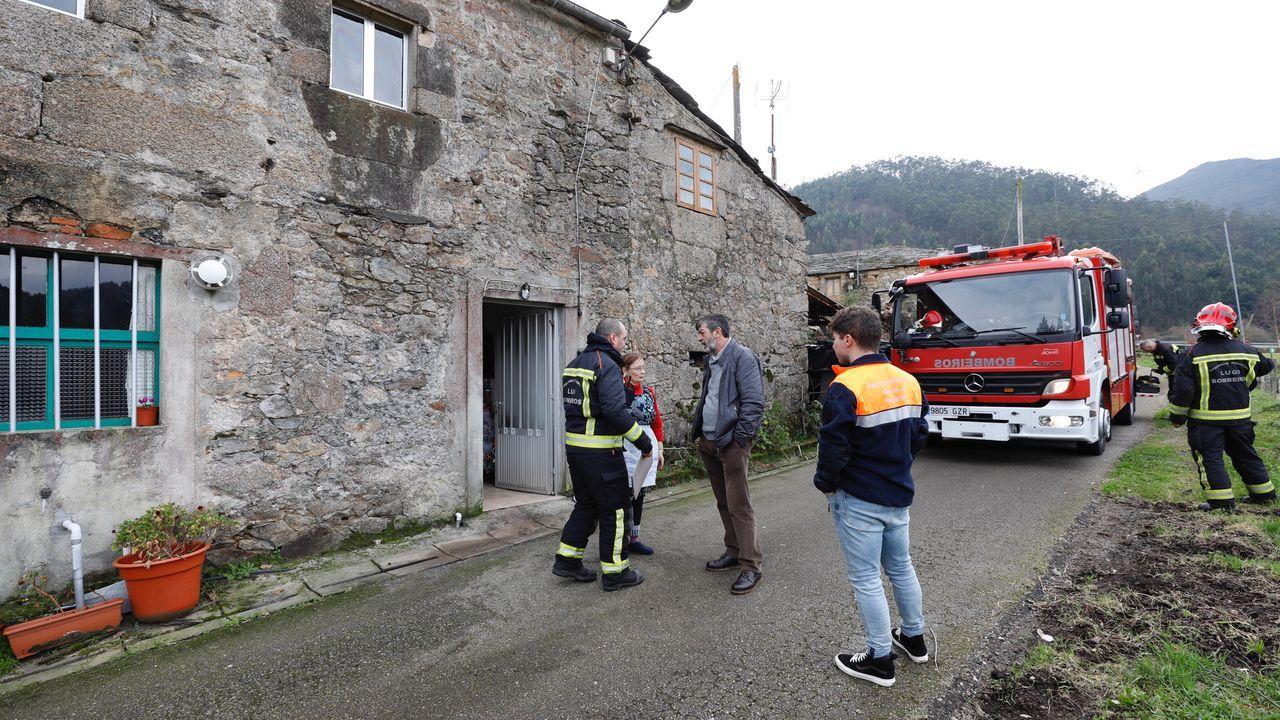 Conato de incendio en un piso Juan Carlos I.Mapa del riesgo de incendio forestal en Asturias.