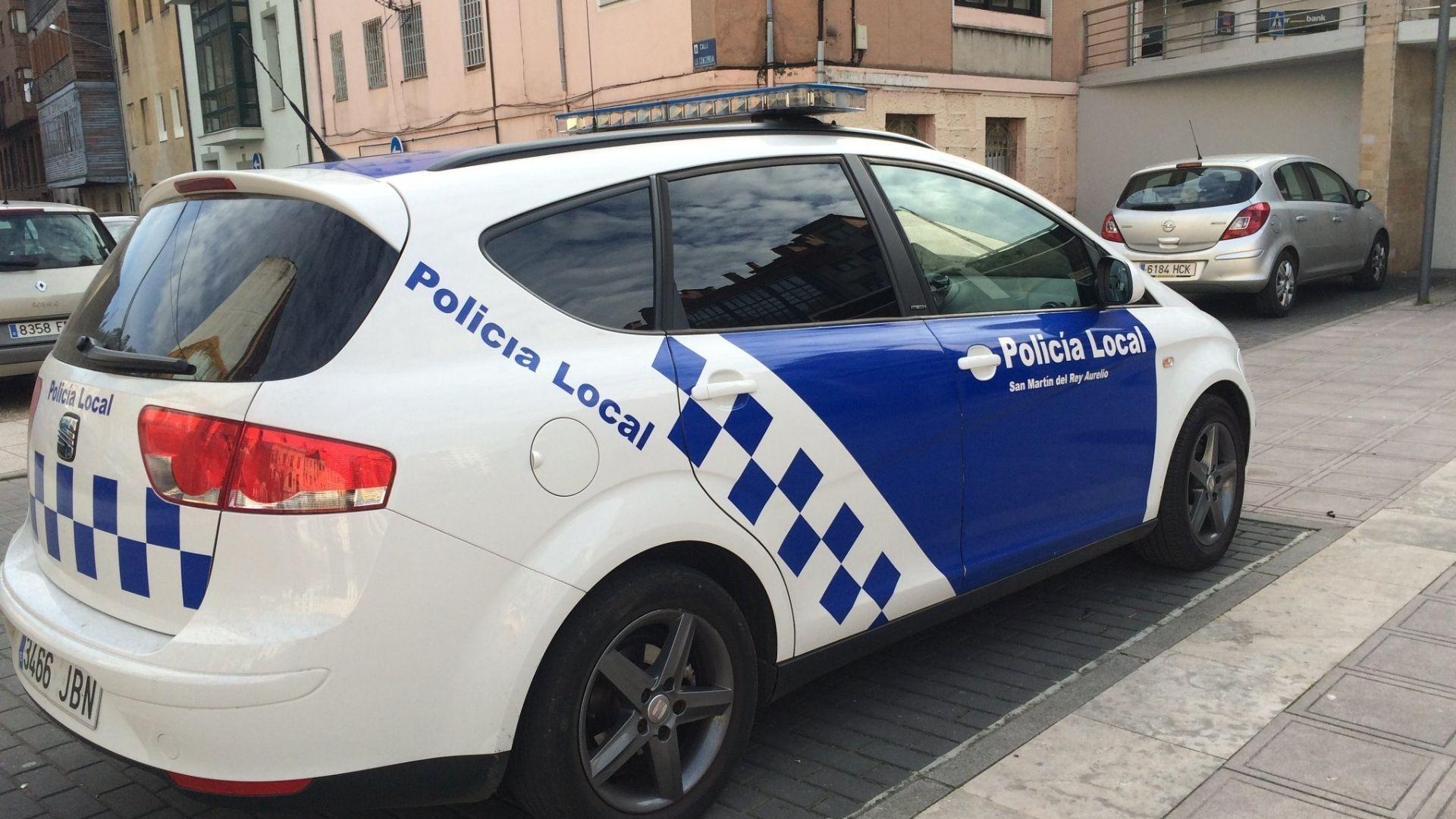 Policía Local de San Martín del Rey Aurelio