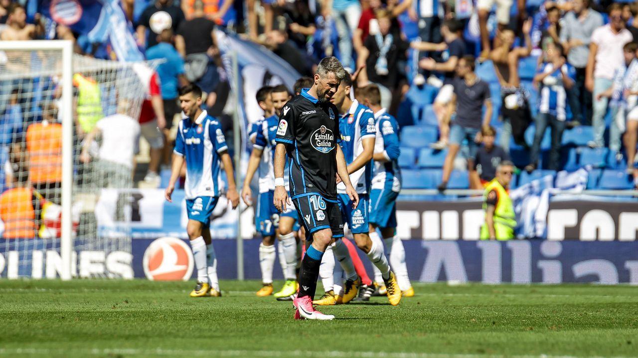 Las mejores imágenes del Espanyol - Deportivo