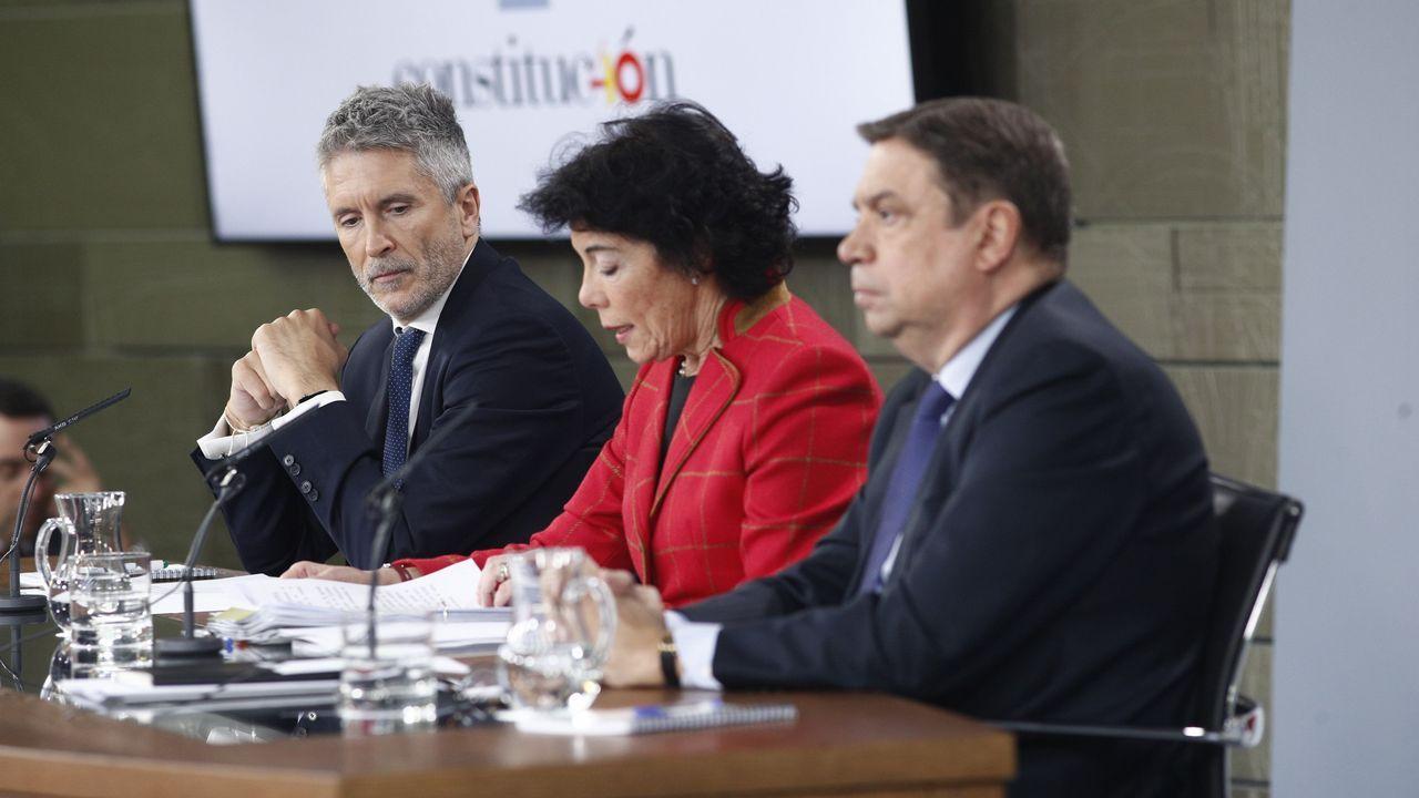 Desolación en Totalán tras el hallazgo del cuerpo sin vida de Julen.La ministra de Hacienda, María Jesús Montero, en el Congreso