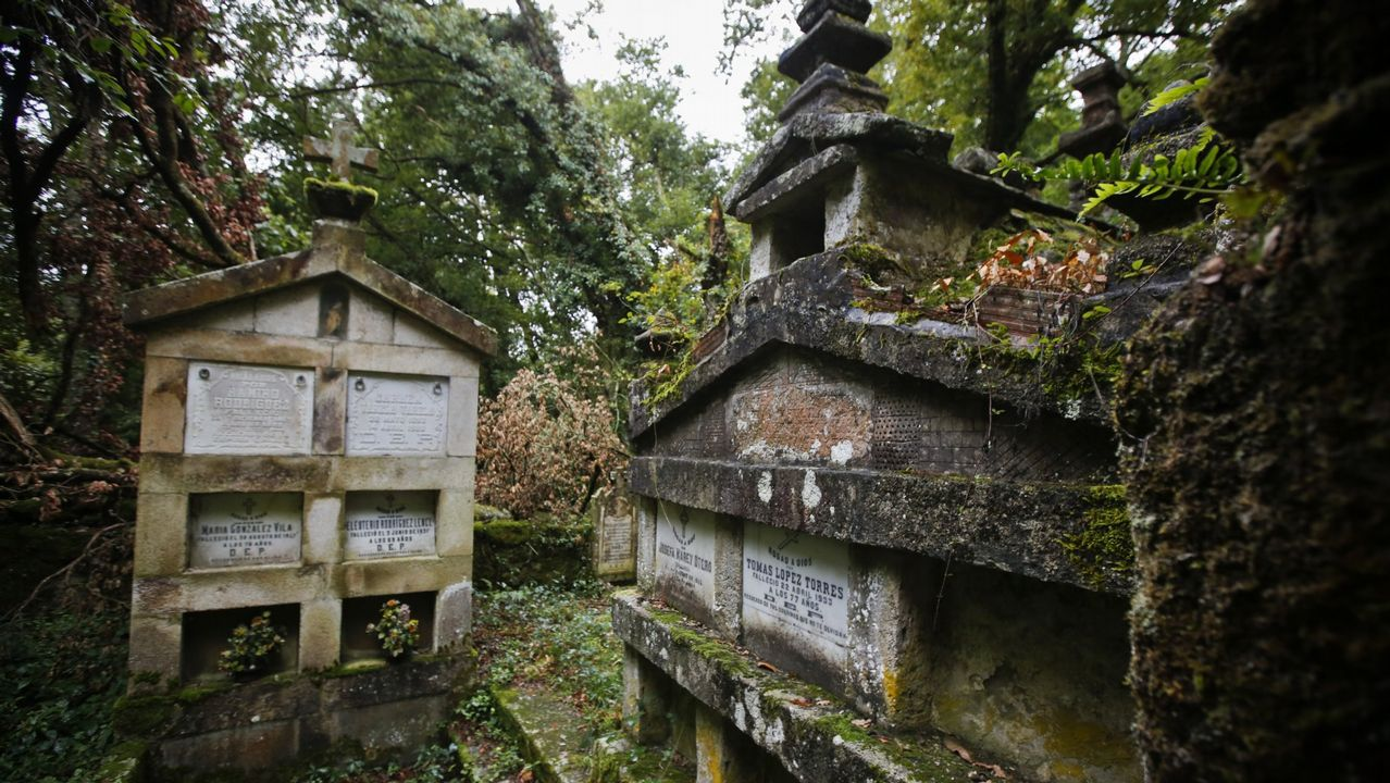 El cementerio de Soutomerille es uno de los más pequeños de Galicia