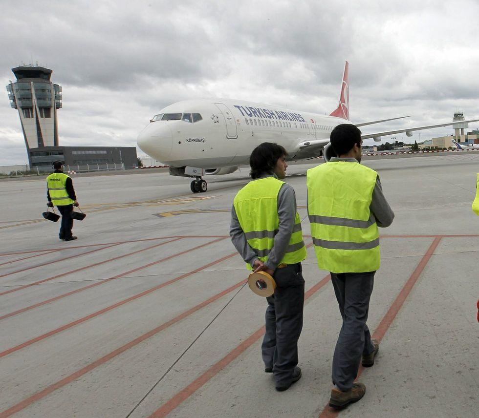 Turkish realizó su primer vuelo a Lavacolla en mayo del 2013.