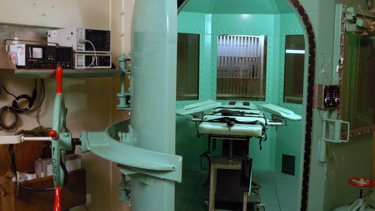 materno.Cámara de ejecución de la prisión de San Quintín, en Estados Unidos