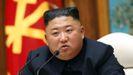 Kim Jong Un, en una reunión del Partido de los Trabajadores de Corea del Norte, el pasado 12 de abril