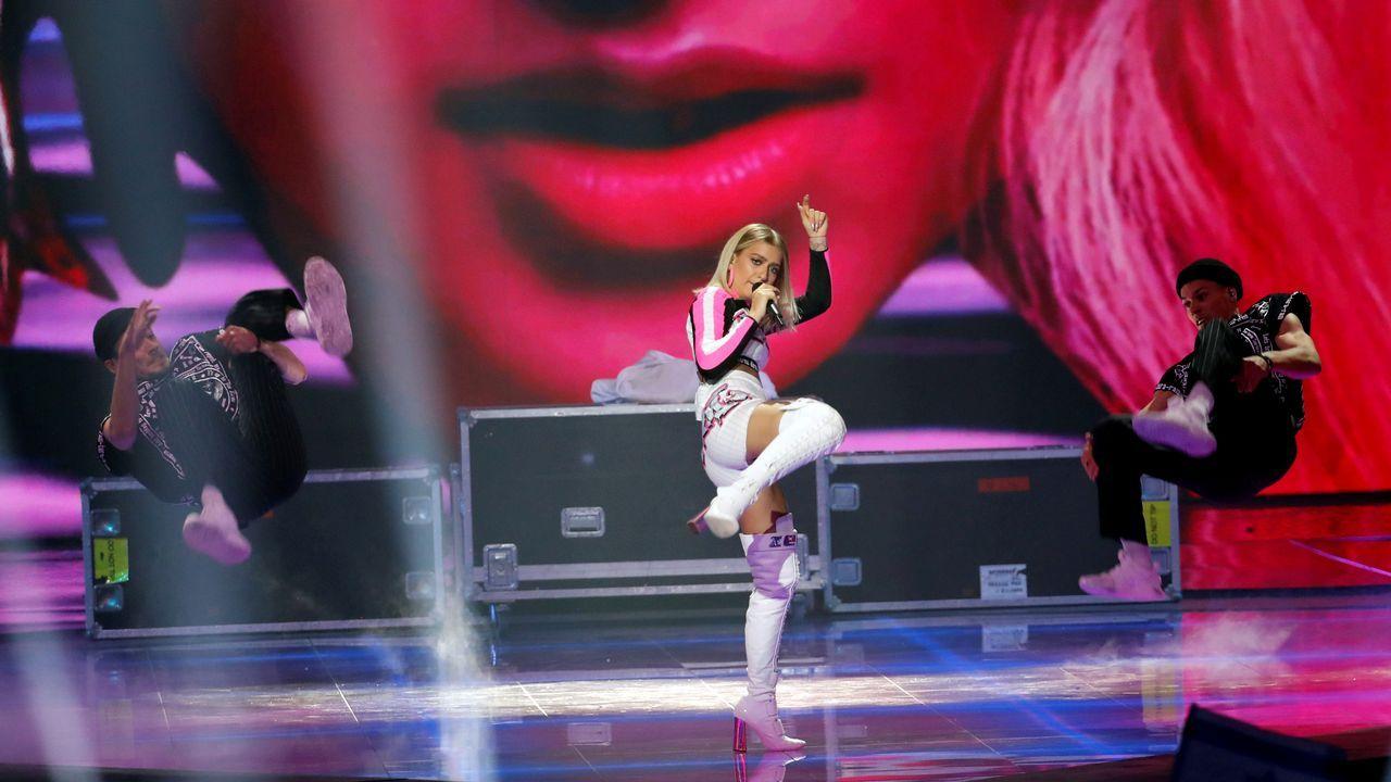 Netta Barzilai, de Israel.Zena, de Bielorrusia, en Eurovisión