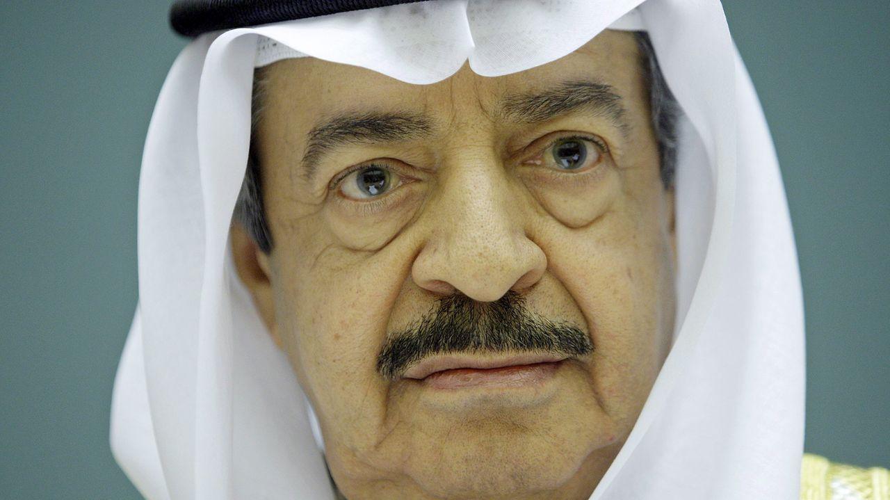 El primer ministro de Baréin, Jalifa bin Salman al-Jalifa, en una imagen del 2007