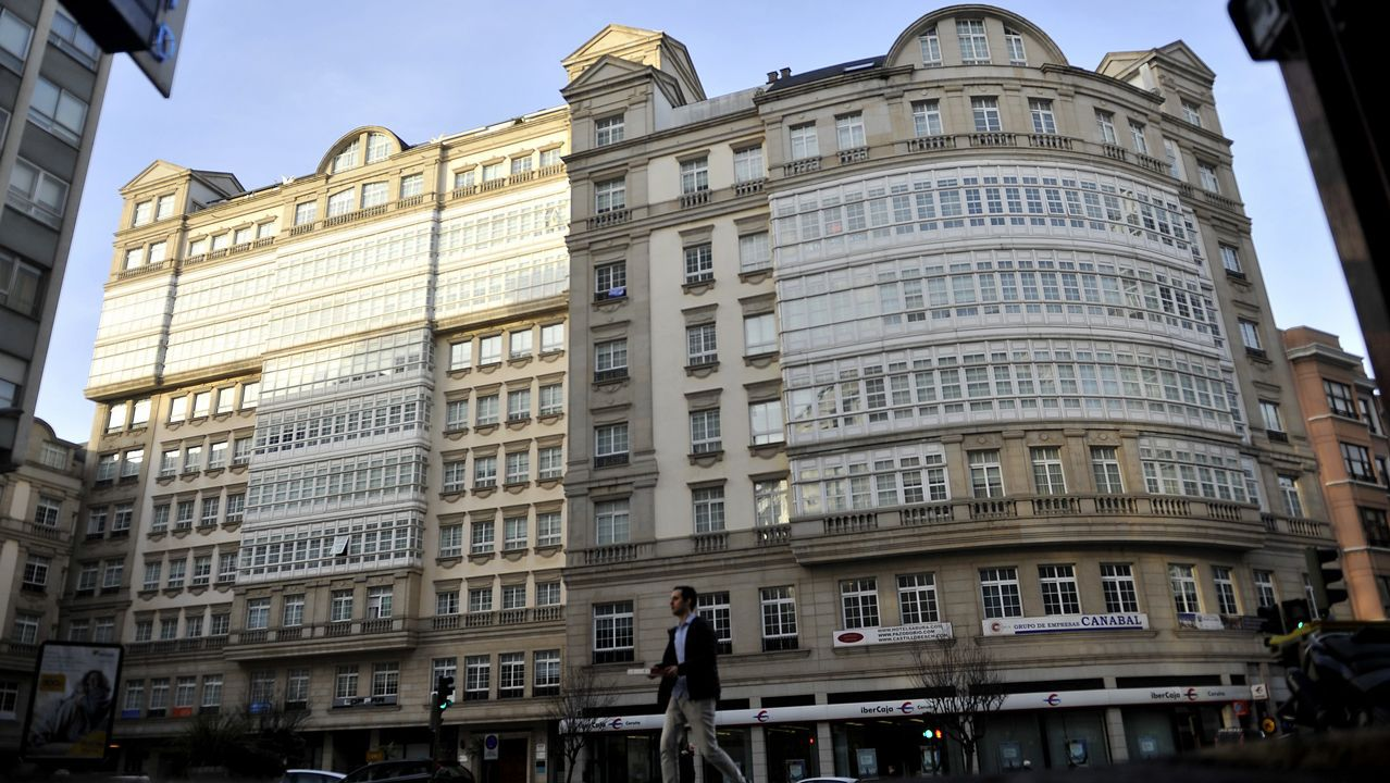 De scalextric por Meaño.El Tribunal Superior de Xustiza de Galicia autorizó el acuerdo para salvar el edificio de la calle Fernando Macías