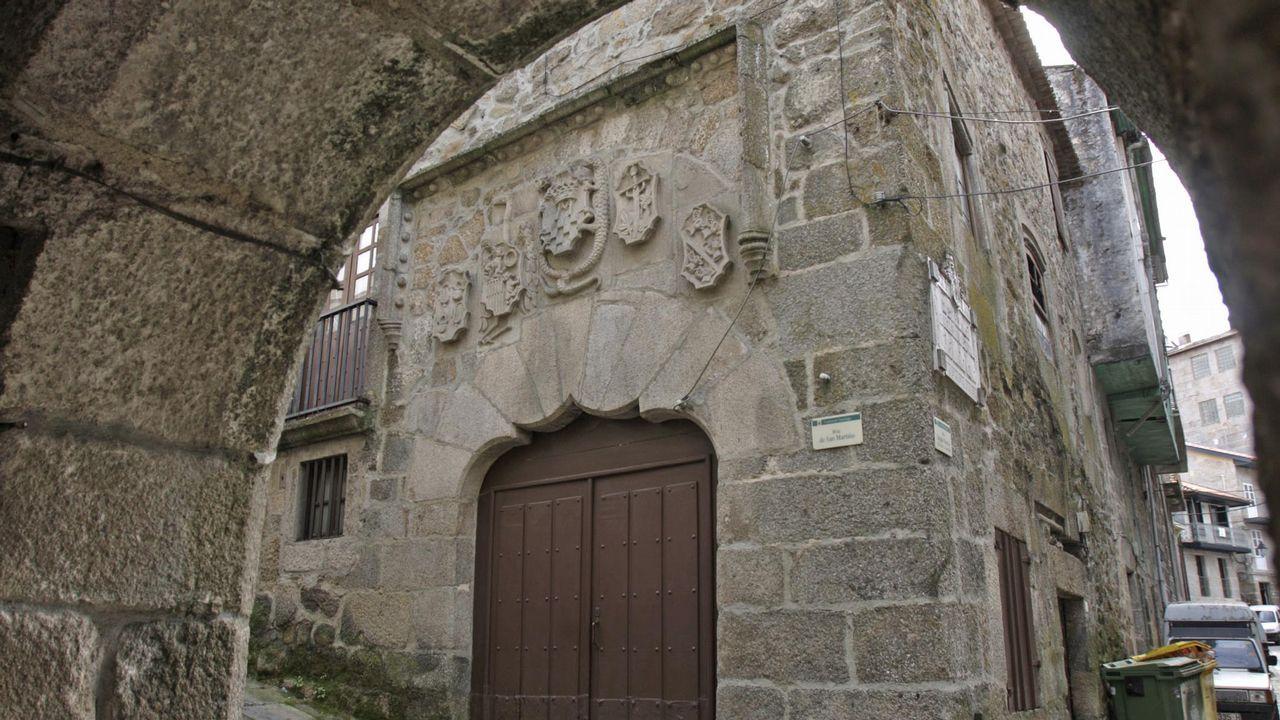 Antigua Casa de la Inquisición, en el casco histórico de Ribadavia