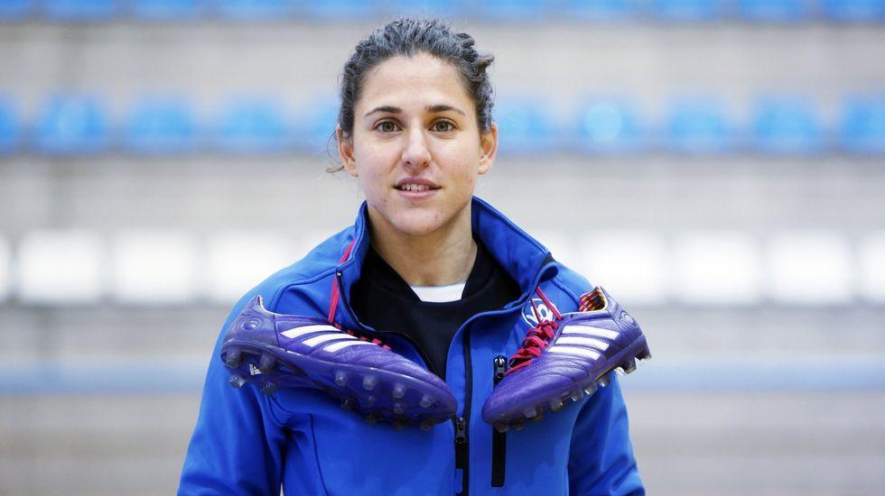 La futbolista Verónica Boquete.