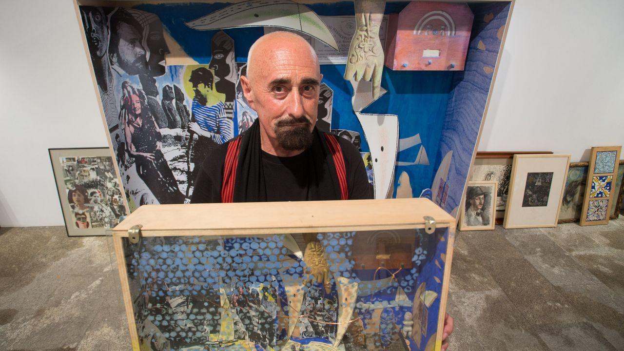 Vázquez Cereijo, al descubierto.Miguel Berlanga, uno de los payasos de «Kooza», con su traje