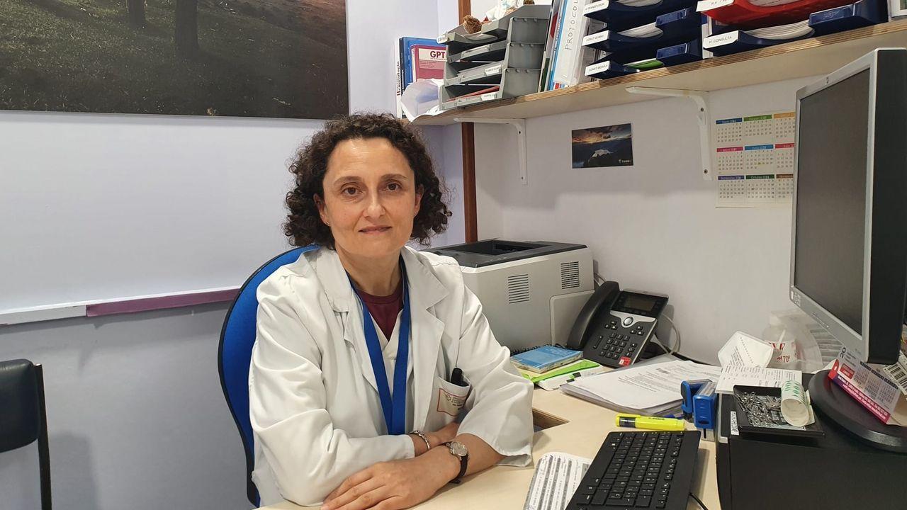 Ana Vale, hematóloga del Chuac