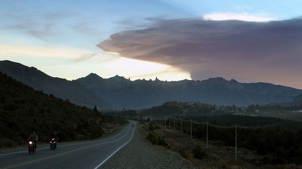 En la ciudad argentina de Bariloche se tomaron medidas de emergencia de prevención ante la llegada de las cenizas.