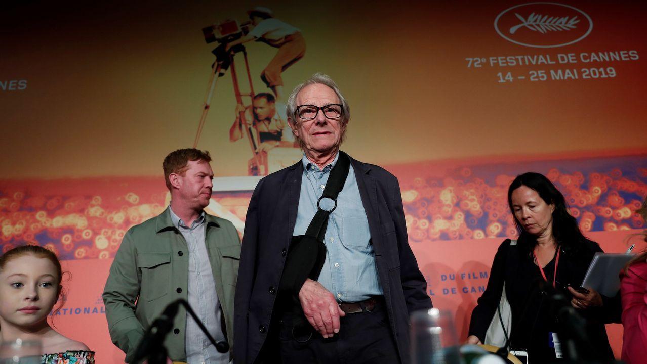 Loach presentó su filme en Cannes