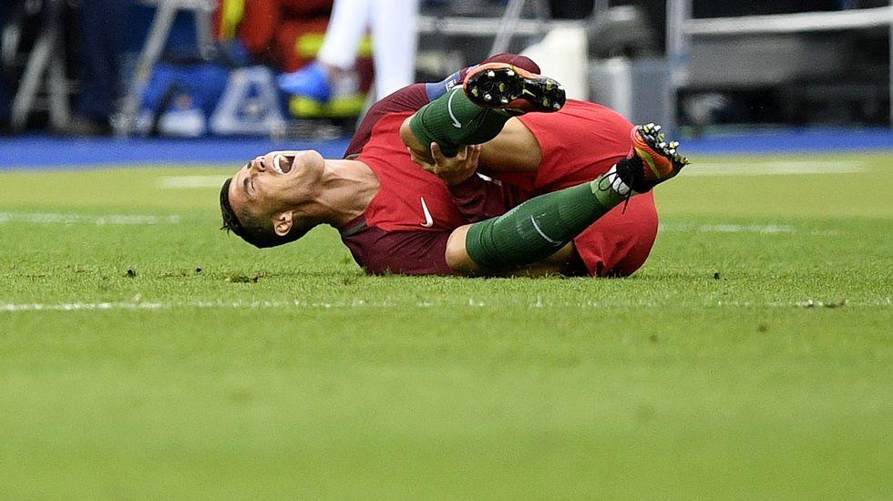 La final de la Eurocopa, en fotos
