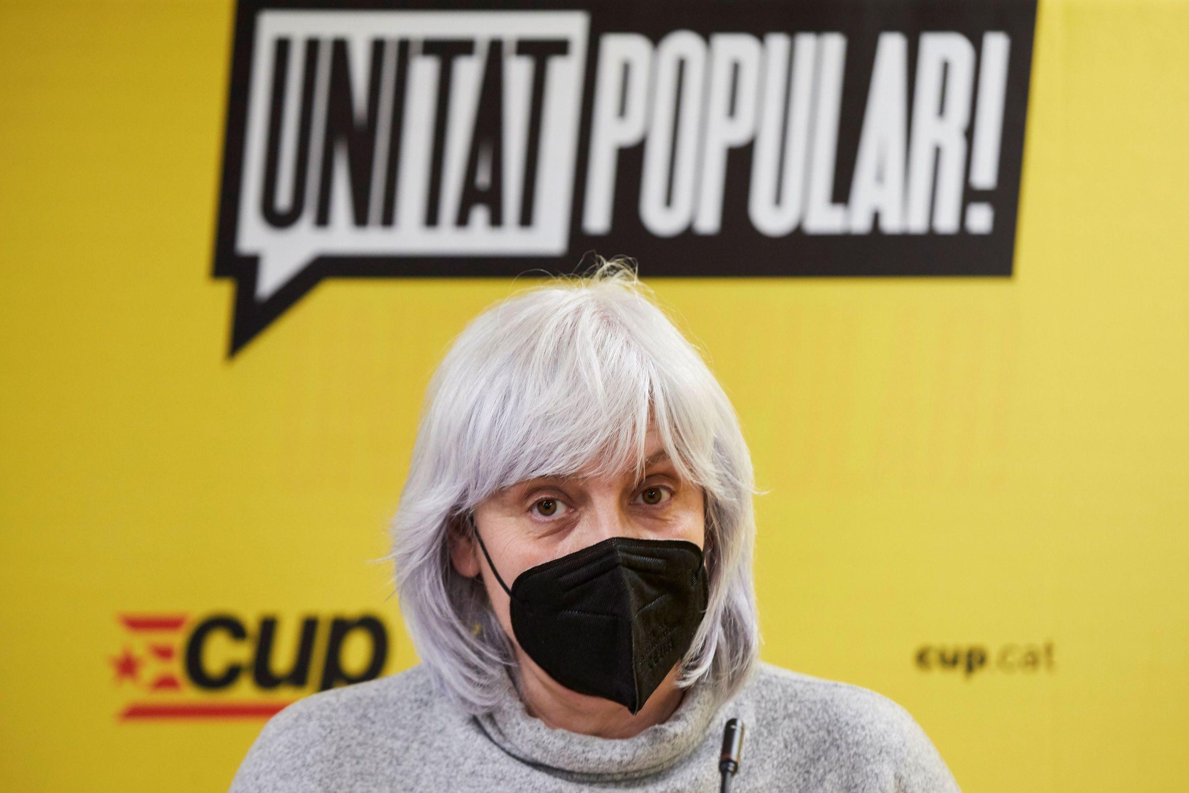 Dolors Sabater, candidata de la CUP a la Generalitat