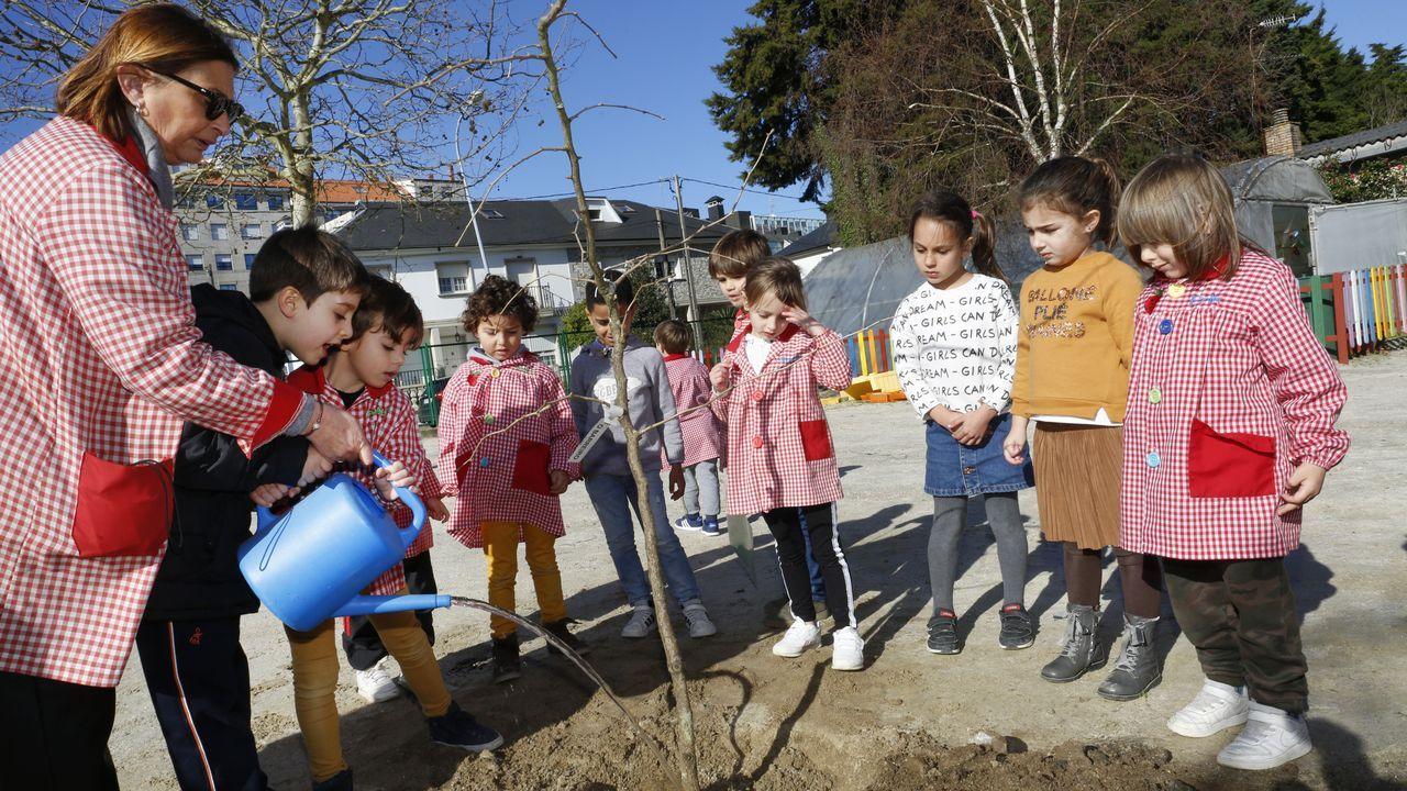 Voz Natura en el colegio Vagalume de Vilagarcía