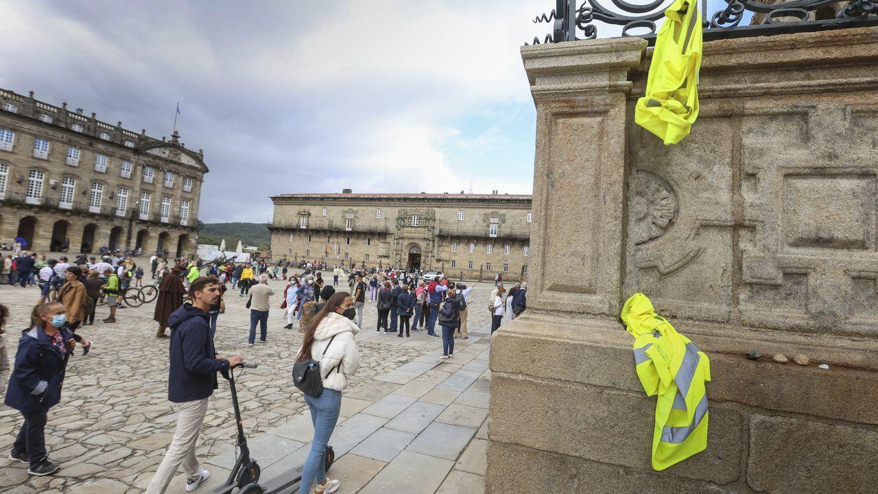 Los recuerdos no deseados de los peregrinos en el Camino.Muestra «Carteles para un Camino. Cien años de inspiración jacobea», en Pontevedra