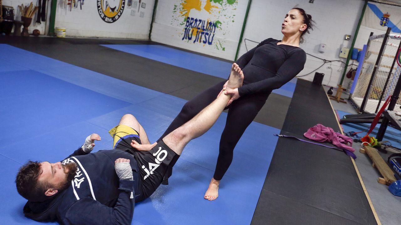 Fátima nos enseña defensa personal